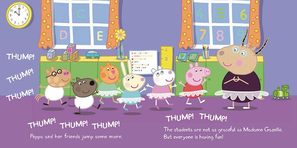 Peppa Pig粉紅豬小妹:芭蕾舞課
